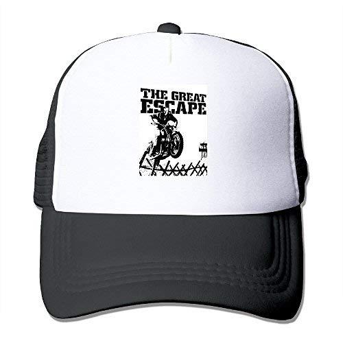 Obaeson Popular The Great Escape Epic Film Steve McQueen Baseball Caps