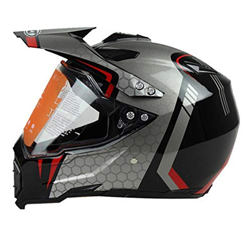 Chitty Weiß Grün Silber Professioneller Motorradhelm Motocrosshelm Motorradschutzhelm Highway Helm Rallye Integralhelm Kletterhelm Fahrrad Integralhelm Multicolor Helm Full Cover Four Seasons Universa -