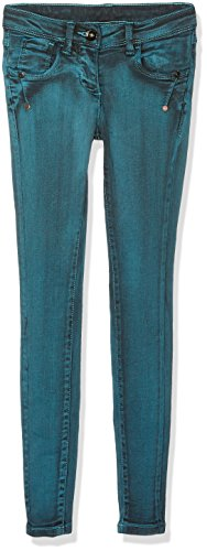 Tom Tailor Skinny Treggings Fancy Wash Lissie, Blu Bambina, Verde (Pool Turquoise 7589), 158