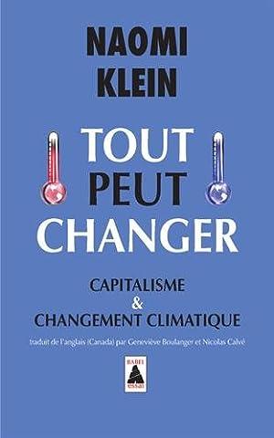 Tout peut changer : Capitalisme & changement