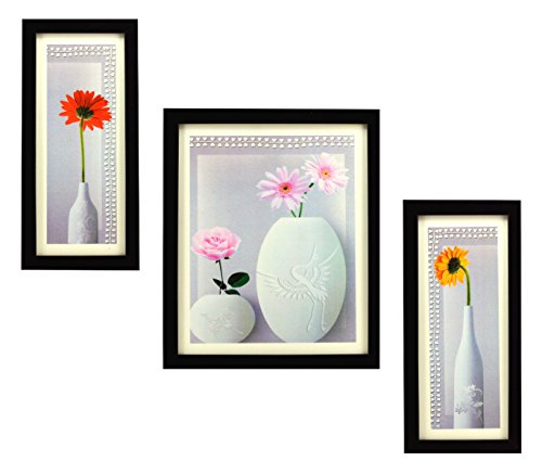 3 piece set of framed wall hanging photo frame 3 PIECE SET OF FRAMED WALL HANGING PHOTO FRAME 410tDcRI3WL