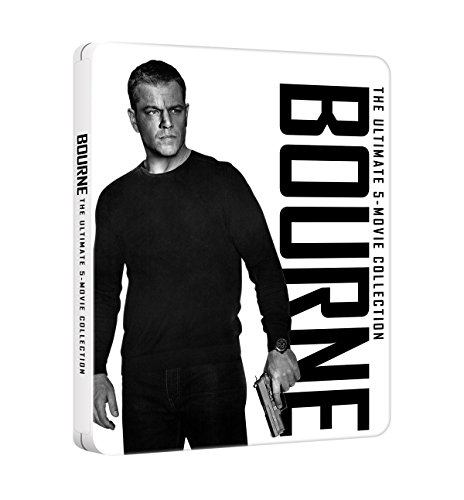 Bourne: 5 Movie Collection (Steelbook) (5 Blu-Ray)