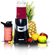 Geepas 350W Personal Blender Smoothie Milkshake Maker - Mini Electric Travel Blender for Protein Shakes with 2