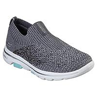 SKECHERS GO WALK 5 Womens Shoes, Grey (Gray), 4 UK (37 EU)