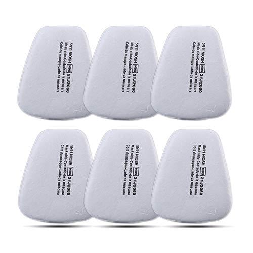 Filtros Máscara Gas Coffly 6x Filtro Algodón Particulado