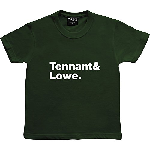 T34 -  T-shirt - ragazzo Racing Green Kids' T-Shirt