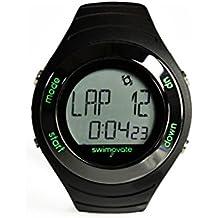 2016 Swimovate PoolMateLive Swim Watch & Download Clip in BLACK