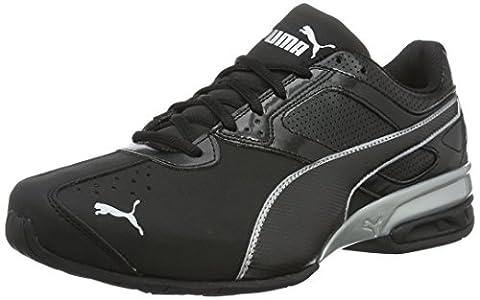 Puma Tazon 6 Fm, Chaussures de Running Compétition Homme, Noir (Black-Silver), 42 EU