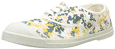 Bensimon Tennis Plumetis, Baskets Basses Femme