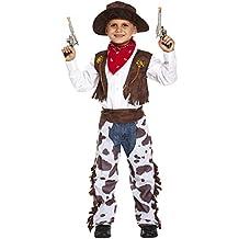 Niños pequeño 110cm a 122cm. Disfraz infantil vaquero Pequeño 4-6 AÑOS 8d785017255