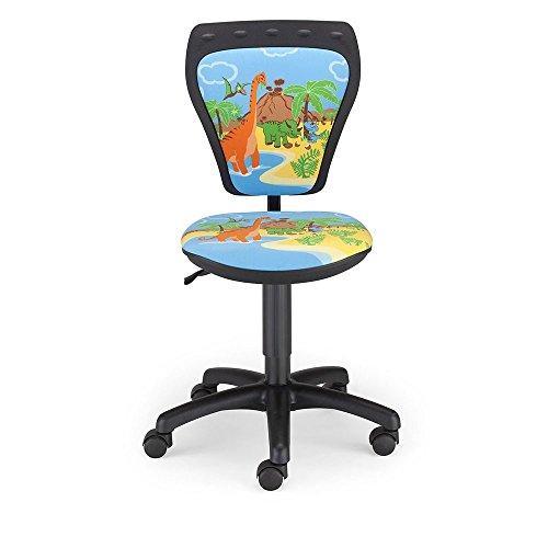 Schreibtischstuhl Kinder Zimmer Jungen Dinosaurier Drehstuhl Ministyle TS22 RTS DINO