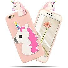 iphone 6 plus coque silicone licorne