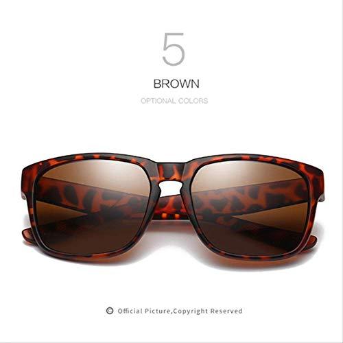 MJDL Männer Polarisierte Sonnenbrille Hd Linsen Frauen Männer Markendesigner Sonnenbrille Design Hohe Qualität Retro Uv400 Brillen C5
