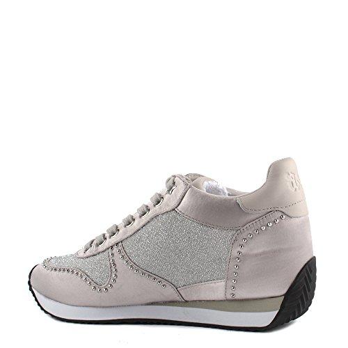 Sneaker Blush Schuhe Keil Damen Bis Silber Ash zvIqww