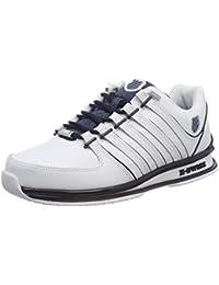 Chaussures De Sport Couche Rinzler De Gris / Blanc K-suisse jbpSN