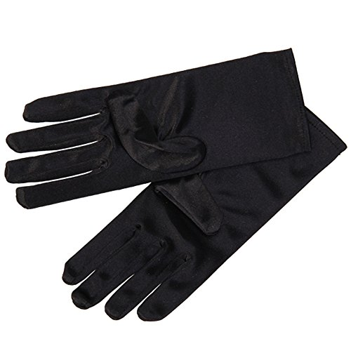 celldeal-ladies-short-smooth-satin-wrist-gloves-great-for-wedding-evening-prom-black