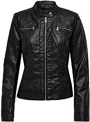 ONLY Bandit Pu Biker Jacket voor dames