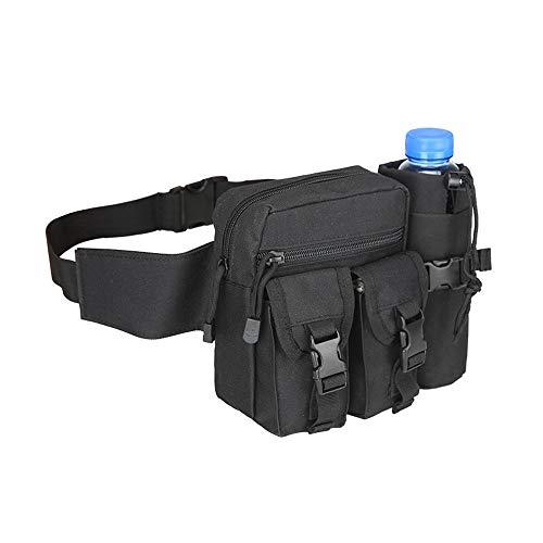Preisvergleich Produktbild RMXMY Laufsporttaschen Wilde kleine Wasserdichte Taschenkesseltaschen preiswert und praktisch (Farbe : SCHWARZ)