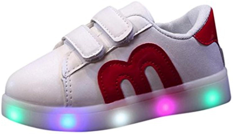 Enfant Chaussures Fille Avec eu Lumineuses Garçon Baskets Bonjouree wEqIaXza