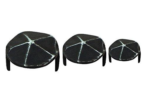 Pollmann Baubeschläge 3595010 Decknägel Gehämmert, Durchmesser 18 mm, 10 Stück
