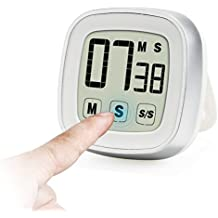 Innotree Touch Screen Digital Timer da Cucina / Stopwatch, Novità ampio display forte allarme magnetico (Westinghouse Digital Lcd)