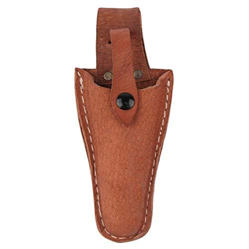Erfula Leder Etui Werkzeug Gürtel Halter Garten-Tasche für Zange, Beschneiden Scheren, Gartenschere, Schere oder Garten Messer Leder