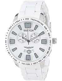 Sector Herren-Armbanduhr XL 400 Chronograph Edelstahl beschichtet R3273619003