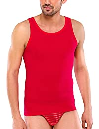 SCHIESSER Herren Unterhemd oder T-Shirt mit V-Ausschnitt, Shirt, Sportjacke, 95/5 Serie, rot, blau oder türkis, 142644 o. 142643