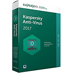 KASPERSKY ANTIVURUS 2017 FULL BOX 1 USER 1 ANNO