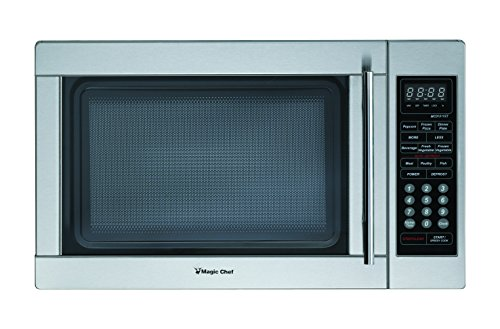 MAGIC CHEF 1. 3 CF 1000w Microwave All Stainless - Mikrowelle Magic Chef