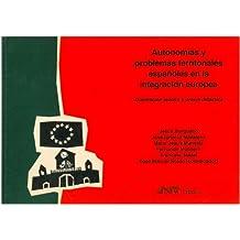 Autonomías y problemas territoriales (Gea-Clio Cuadernos)