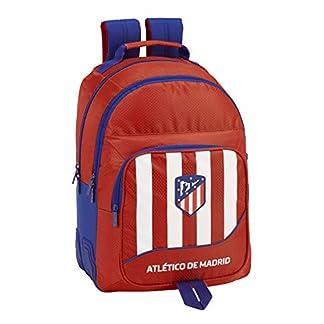 410tQndrz8L. SS324  - Atlético de Madrid plumier Mochila 4 Estuches llenos, 33 Piezas, Escolar.