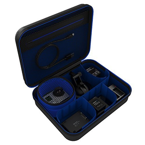 Sabrent GoPro kombinierte Kamera- & Camcordertaschen - Universal Travel Tasche für GoPro oder kleine elektronische Geräte und Zubehör [Medium] (GP-CSBG)