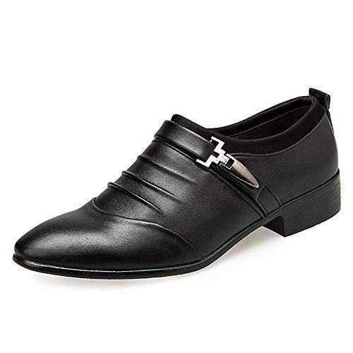 Anzugschuhe Herren Slipper Anzug Schuhe Derby Oxford Lederschuhe Business Hochzeit Männer Leder Winter Herrenschuhe Weiß Hellbraun Schwarz 38-48 BK43