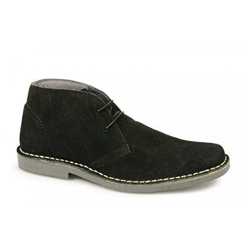 2 Eyelet Desert Boot - Black - M_420AS - Black - size...