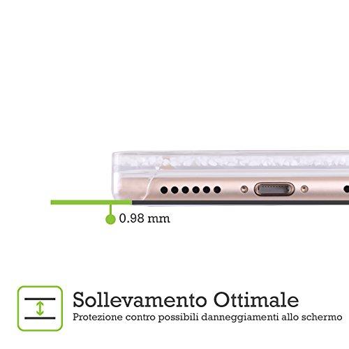 Head Case Designs Babbo Natale Natale In Barattolo Cover Telefono Con Neve Liquida Brillante Per Apple iPhone 5 / 5s Babbo Natale