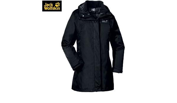 Wolfskin Coat Women Gracefield Damen Jack Doppelmantel rdCoQWBex