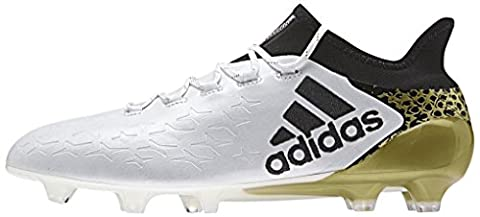 adidas Herren X 16.1 FG Fußballschuhe, Blanco (Ftwbla / Negbas