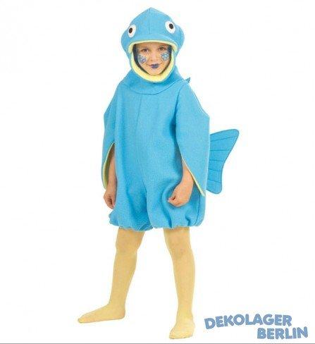 fish Kinder Kostüm, Größe 3-4 Jahre (3457F 3-4 Yrs)