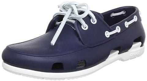 Crocs BchLnBoatShoeM, Herren Bootschuhe, Blau (Navy/White 462), 48/49 EU