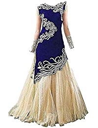 madhave fashion girls lengha choli semi stich 8-12 yers