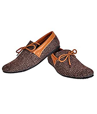 24 Casuals Jute Brown Shoes