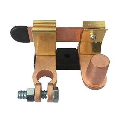 nuzamas Akku Master Disconnect Messer Schalter | Terminal Cut Off Seite Post | für 6V 12V 24V Batterien Marine Boot Auto Carvan Trucks Wohnmobil-Fahrzeuge Batterie Post