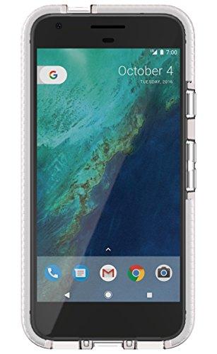 Tech21Impact Shield Self Heal Film de protection d'écran autocicatrisant résistant aux chocs anti-chocs pour Samsung LG G5–Transparent Transparent/blanc