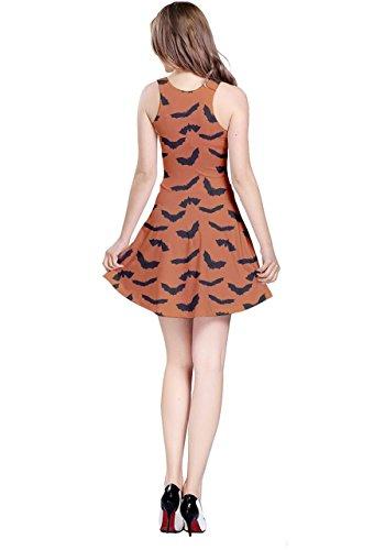 CowCow - Robe - Femme Orange Bats Orange Bats