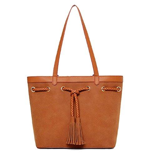 fanova-women-girls-street-chic-leather-handbags-popular-simplepractical-tasselsdrawstring-should-bag