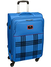 4e2f559267 Tommy Hilfiger Dazzle Lite Ultra Polyester 78 cms Light Blue Soft Sided  Suitcase (8903496090390)
