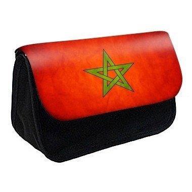 Youdesign - Trousse à Crayons/ Maquillage drapeau maroc ref 330 - Ref: 330