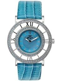 Yonger pour elle DCC 1540/06 - Reloj , correa de cuero color blanco