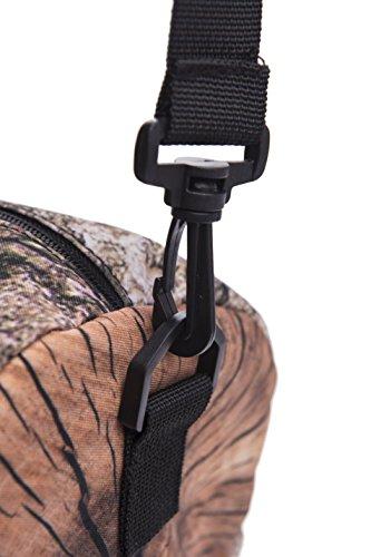 Kleine runde Sport-Tasche für Damen Herren und Kinder   Stylisch bedruckter Gym Bag in verschiedenen Mustern   Umhängetasche als Fussball-Tasche für Jungen und Mädchen   Duffle Bag Barrel Bag Fitness- Log